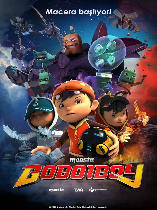 BoBoiBoy: The Movie (Vizyon Tarihi:  25.09.2020 )