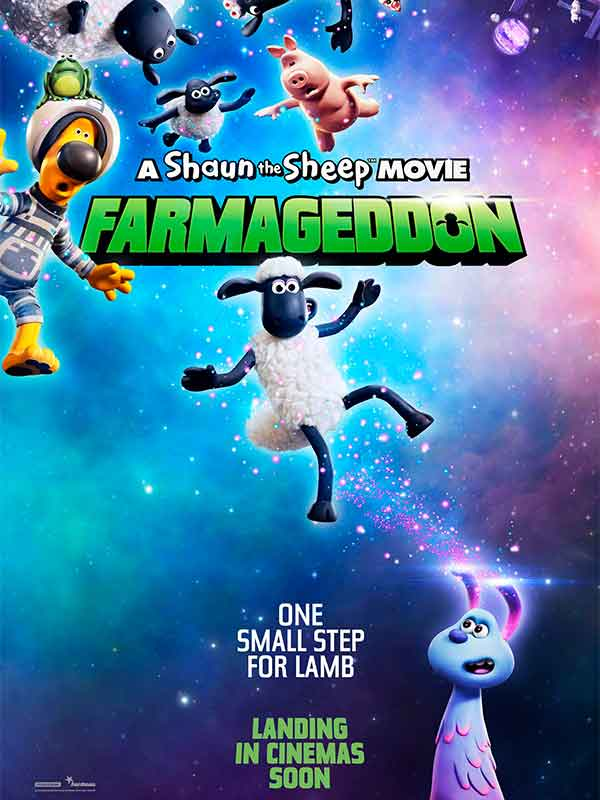 Shaun the Sheep Movie: Farmageddon (Vizyon Tarihi:  11.10.2021 )